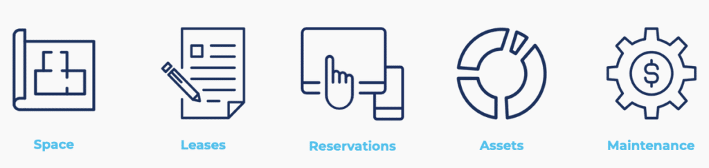 Space, Leases, Reservations, Assets, Maintenance by Archibus